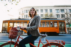 LeahShahum, Executive Director of the San Francisco Bicycle Coalition