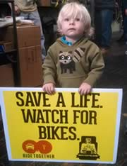Save A Life - Watch For Bikes